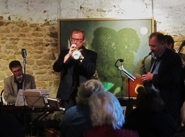 Great Jazz and Great Art at Sladers Yard