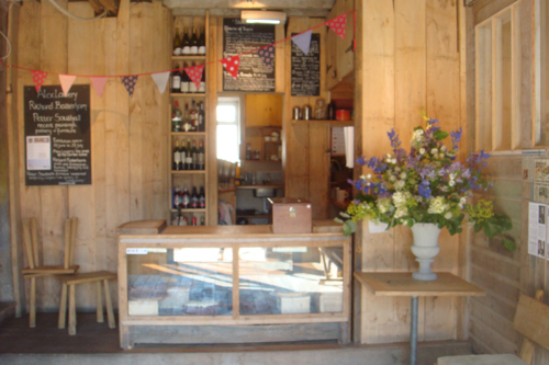 Sladers Yard Cafe Counter