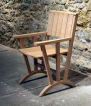 Petter Southall Spoke chair oak and copper boat fasteners