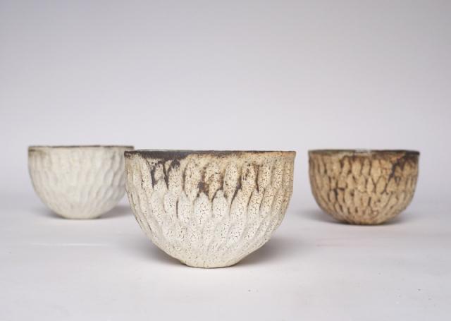 Akiko Hirai Dry Kohiki Orange Cereal Bowls
