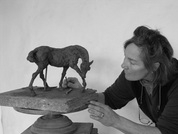 Clare Trenchard at work