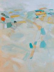 To Hindon Via Corton Down 2015 76 x 101cm acrylic on canvas £2,370