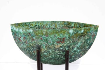 Deep Water 2013 15x8x5 cm Patinated Copper
