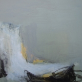 Dorset's Finest by Angela Charles acrylic and coloured pencil on constructed aluminium panel 76 x 76cm