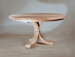 Three C's ash pedestal table by Petter Southall_web