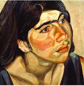 Annie Freud by Lucien Freud web