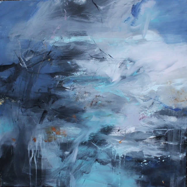 Janette Kerr  Radiance - Above and Below oil on canvas 115 x 115 cm £10,000