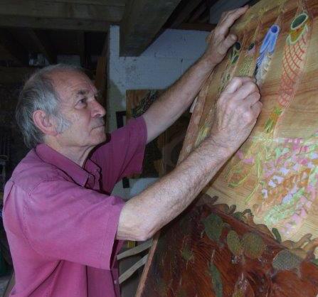 David West at work