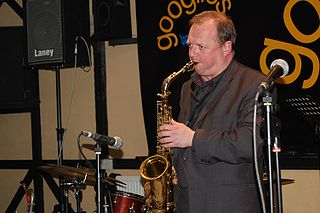 Alan Barnes on sax
