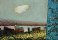 Cloud by Simon Garden oil on board 9 x 12.5in 23 x 31cm £1,950