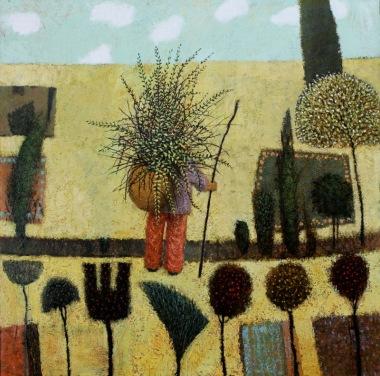 Gardener II by Simon Garden 61 x 61cm £4,800