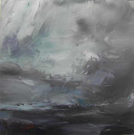 Catching my Breath Janette Kerr oil on canvas 50 x 50cm £2,000