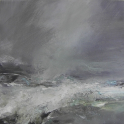 Heavy Sea Running Janette Kerr 60 x 60cm oil on canvas £2,500