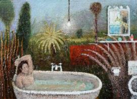 Rousseau's Bath by Simon Garden 23 x 32cm £1,950