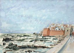 Gnawa Studies I Essaouira Tim Cumming gouache on paper 9 x 12in £250