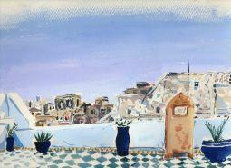 Gnawa Studies II Essaouira Tim Cumming gouache on paper 9 x 12 in £250