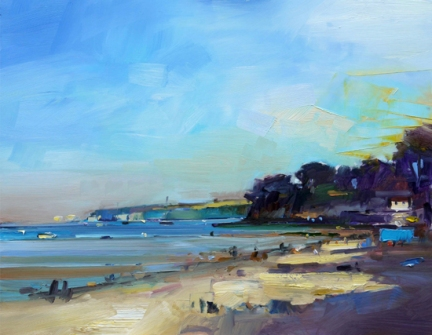 Summer Evening and an Incoming Tide David Atkins 24x30in 61 x 76cm £3,200