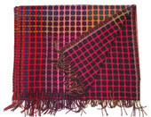 Margo Selby lambswool throw 'Christobel' £275