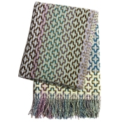 Margo Selby lambswool throw 'Mitsu' £275