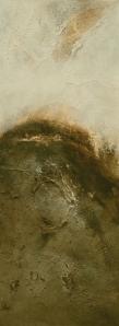 Ritual Discovery II 2013 acrylic on fabriano paper 38.1 x 18