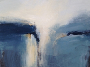 Boo Mallinson Shapley Land I mixed media on canvas 95 x 125cm £2,000