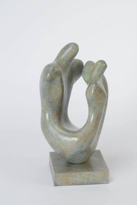Marzia Colonna Lovers Dance bronze ed 6 of 12  35 x 18 x 16 cm