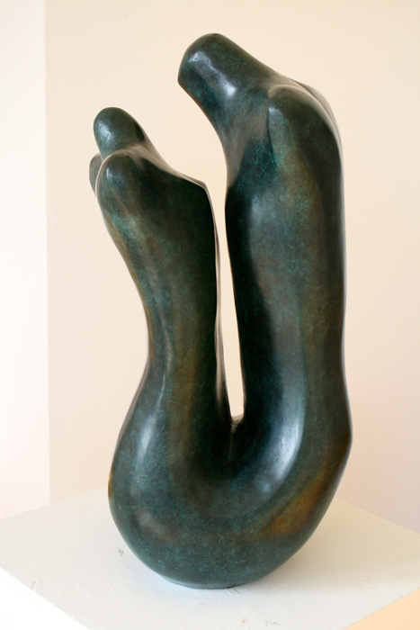 Marzia Colonna Lovers Now bronze ed 2 of 9 56 x 25 x 25 cm