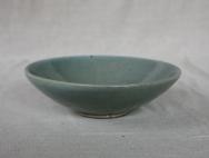 Svend Bayer 27. Bowl, celadon glaze, 7 x 25 cm £130