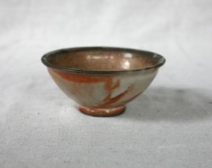 Svend Bayer 42. Bowl, shino glaze, 7 x 15.5 cm £110
