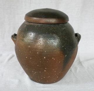 Svend Bayer 5. Lidded Jar 34 x 27cm SOLD
