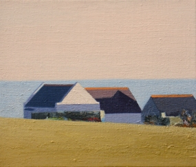 Portland 98, 2013, 30x35cm, oil on flax copy