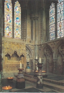 Robin Welch The Gilbert Candlesticks Lincoln Cathedral 2