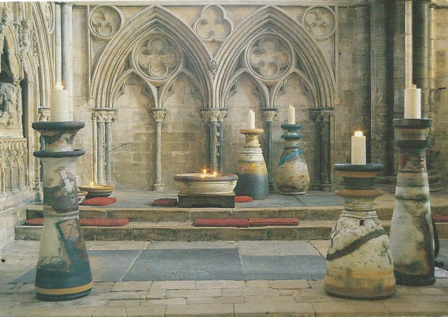 Robin Welch The Gilbert Candlesticks Lincoln Cathedral
