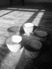 Teabowls by Akiko Hirai