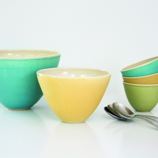 Riva Bowls, small £22.50. medium £35, large £79