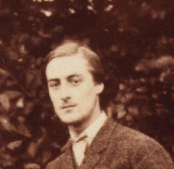 Gerard Manley Hopkins in 1866, detail from a photo by Thomas C. Bayfield. National Portrait Gallery, London