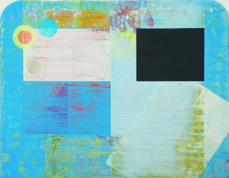 Stewart Geddes Minto 30 x 39cm acrylic on panel £855