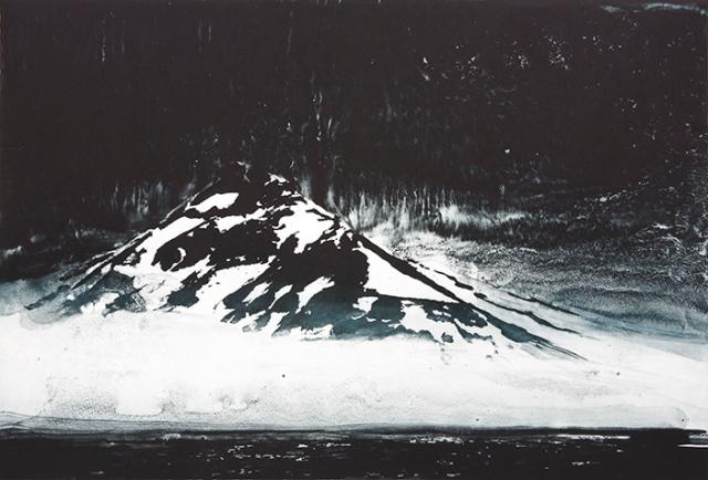 Emma Stibbon RA  Sea mist Svalbard