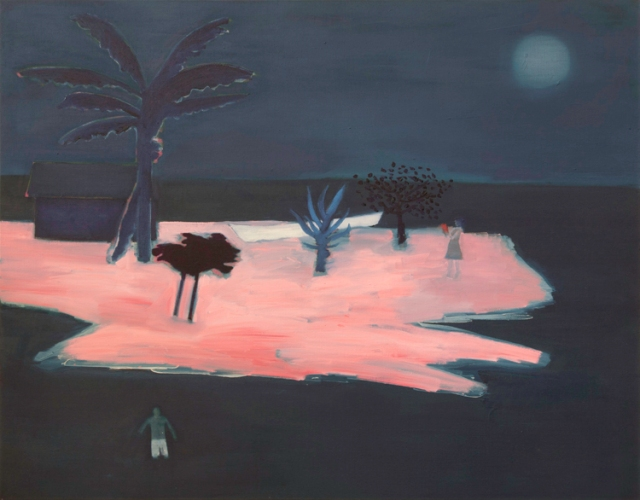 Tom Hammick 7. Waiting for Time  2016  oil on canvas  107 x 137 cm  42 x 54 in  £8500
