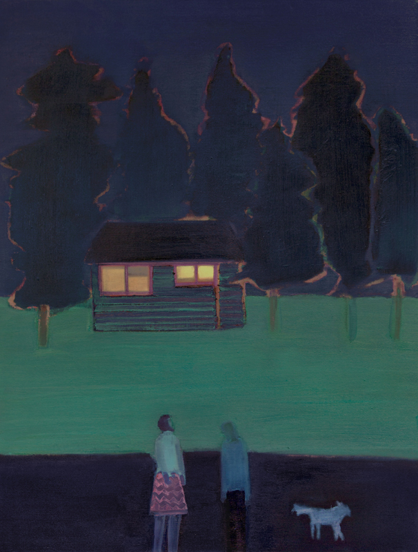 Tom Hammick Love Between 2016 to 17 oil on canvas 107 x 81.5 cm