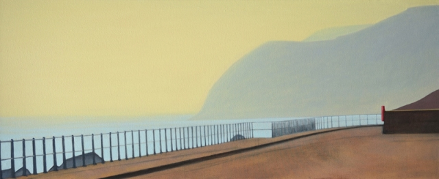 Alex Lowery  West Bay 289  2016  61 x 148 cm  oil on canvas  £5500