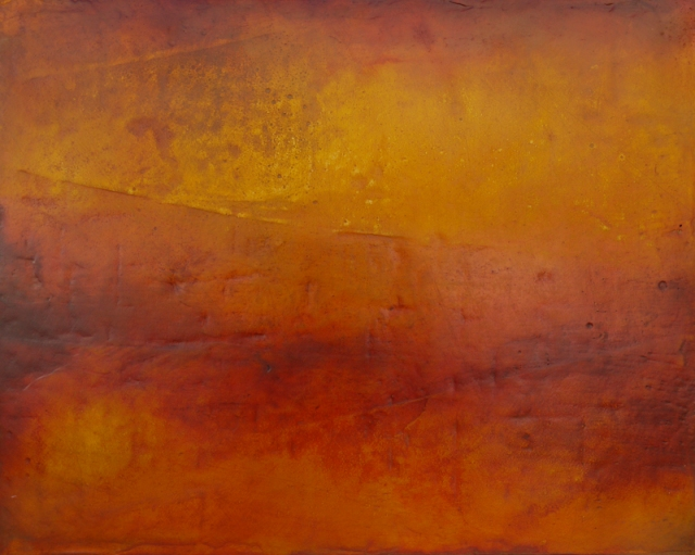 Amanda Wallwork  Deep Time 4  oil, plaster  50 x 60 cm  2011  £1700