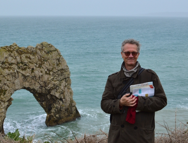 Simon Olding at Durdle Door