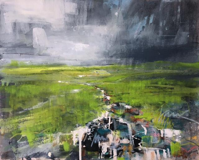 Anthony Garratt Greens_and_Streams_60x40cm