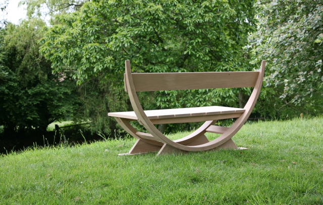 In Time bench at Chilcombe 0502 016
