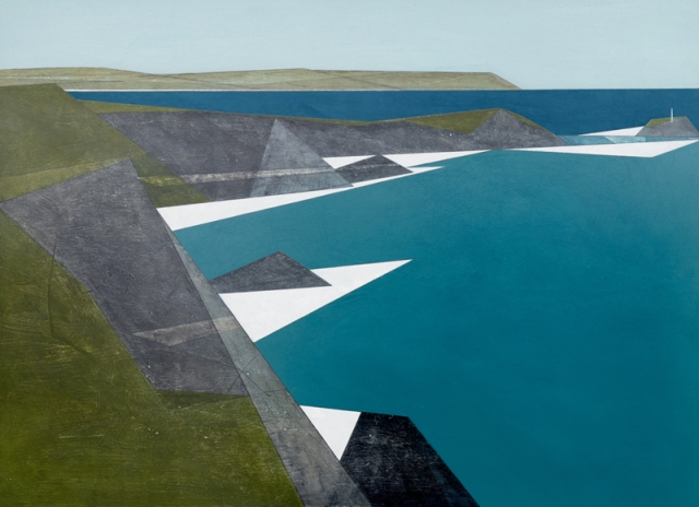 Vanessa Gardiner Godrevy Point 14 acrylic on board 61 x 85 cm £4,200
