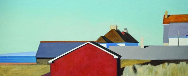 Alex Lowery West Bay 294 2017 50x120cm oil on canvas