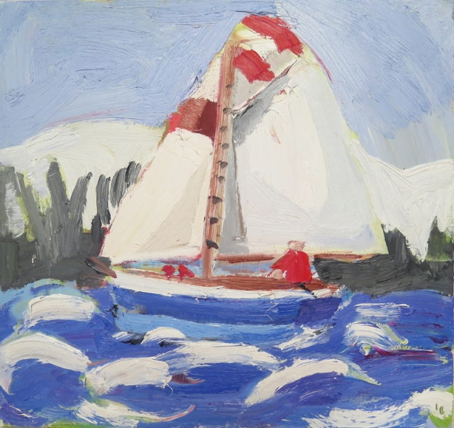 Winter Sailing 2016 by Julian Bailey