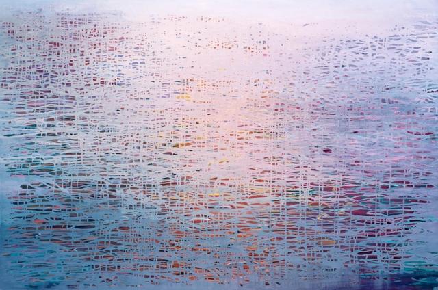 Luke Elwes Ganga 15 2018 oil on linen 100 x 150 cm
