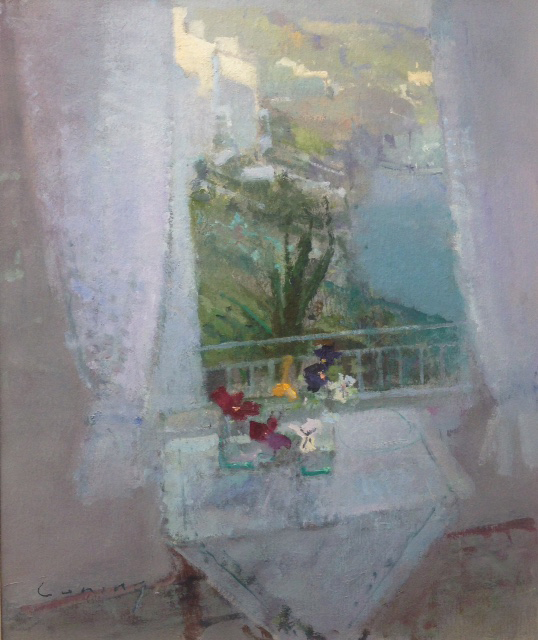 The Window Fowey Harbour 24x20cm £10450